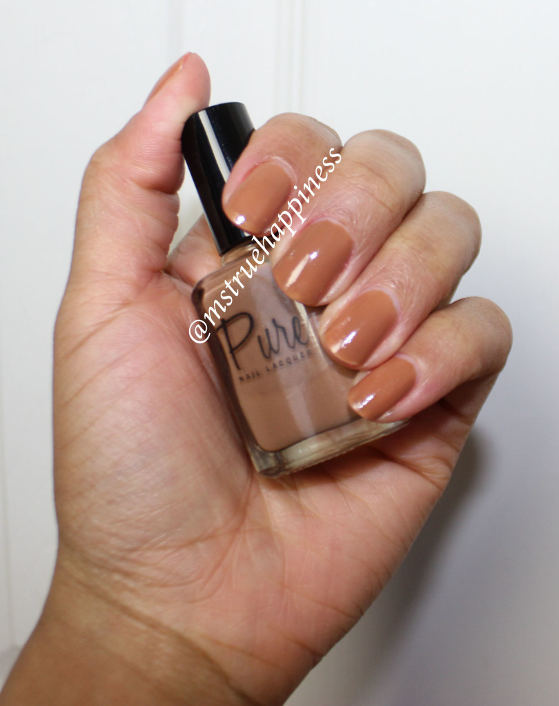 pure nail lacquer flawless swatch 1