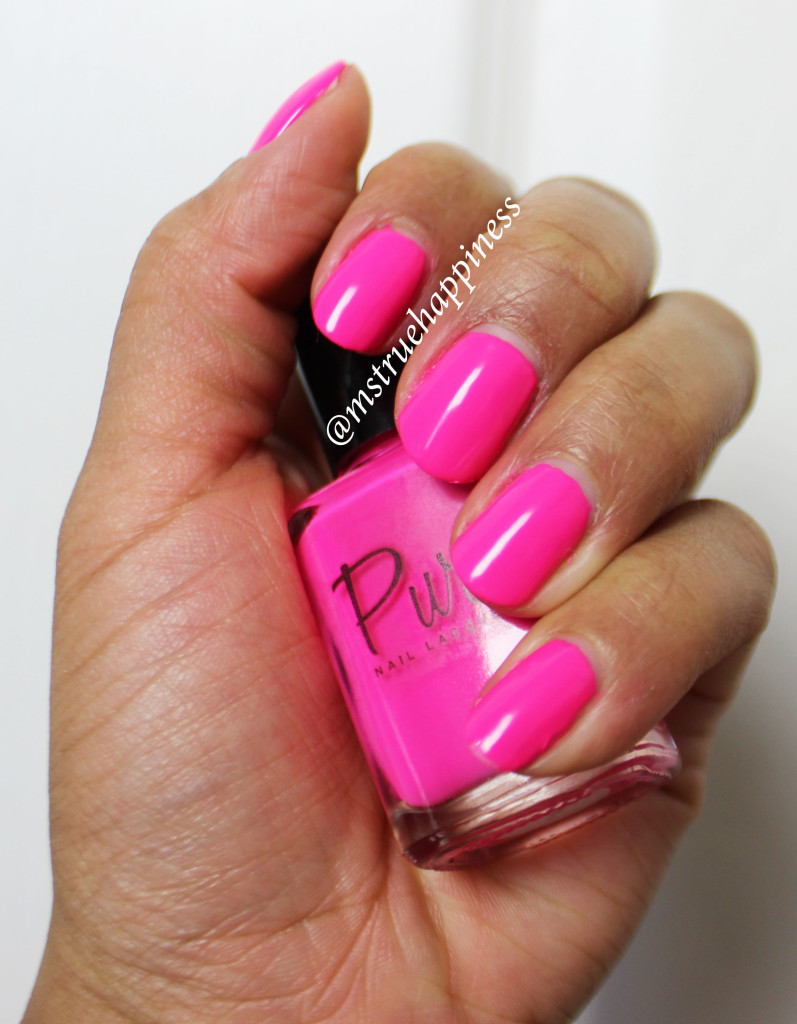 pure nail lacquer honesty swatch 2
