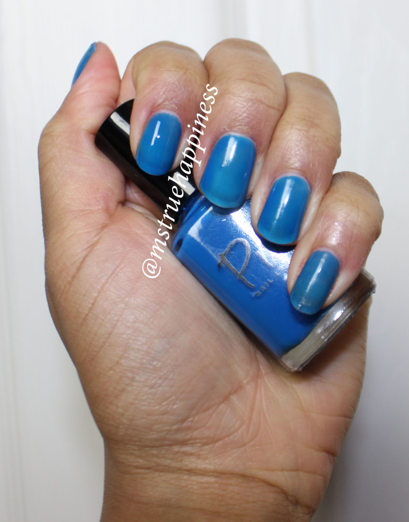 pure nail lacquer lucid swatch 2