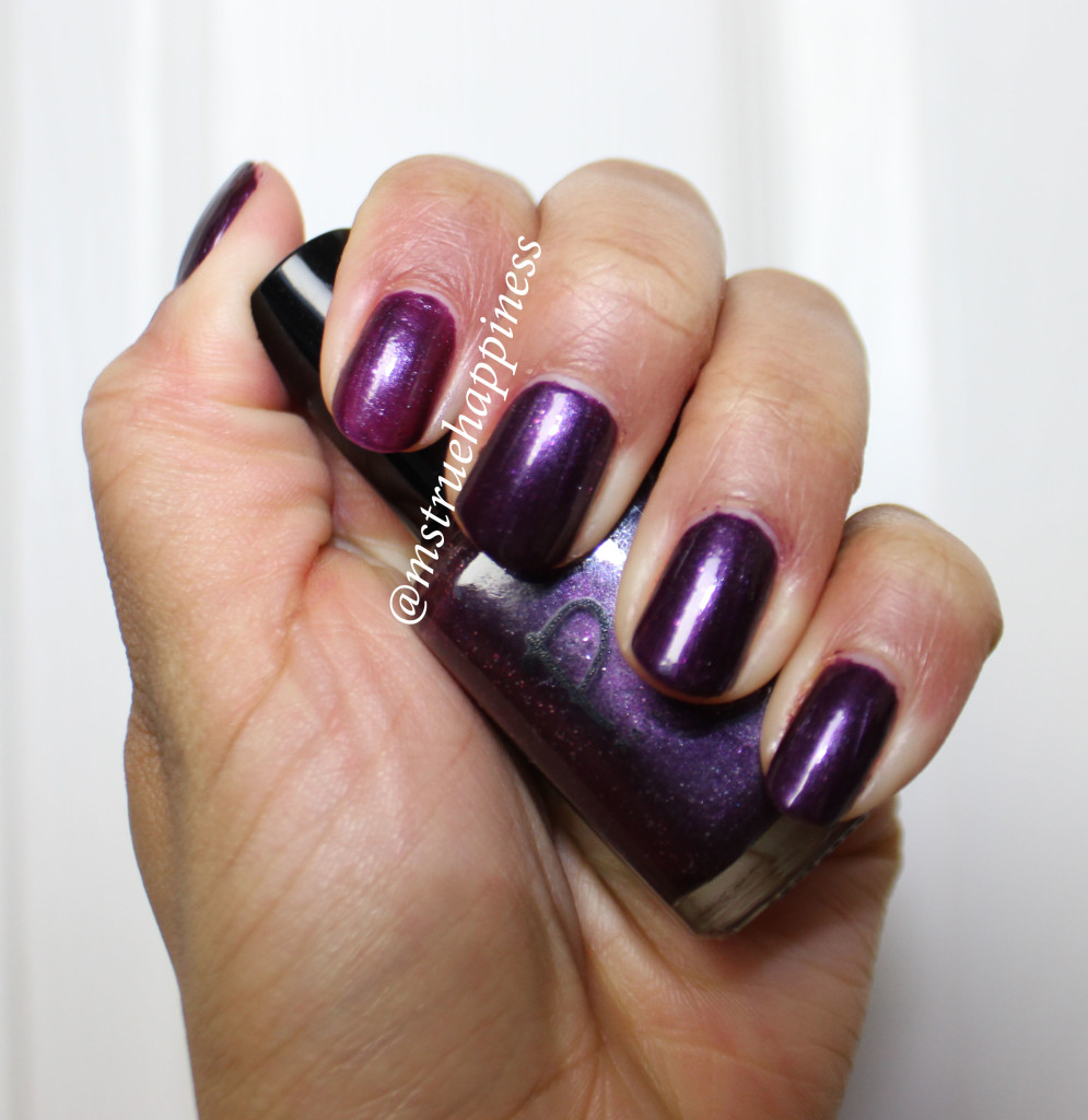 pure nail lacquer royalty swatch 2