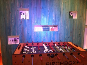 Birchbox Man Lounge